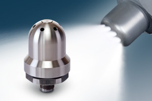 stainless steel FloMax air atomizing nozzles